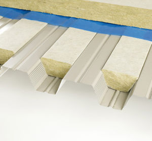 High Quality Thermal Acoustic Insulation / Stone Wool / For Metal Roofs / For Flat Roofs