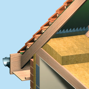 Thermal Acoustic Insulation / Stone Wool / For Roofs / For Floors