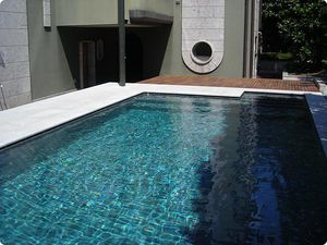 pool tile / floor / wall / natural stone