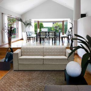 Außergewöhnlich Sofa Bed / Contemporary / Fabric / 2 Seater