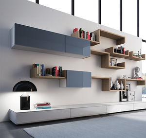 contemporary shelves, modern shelves - all architecture and design