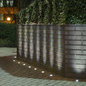 Delightful Recessed Floor Light Fixture / LED / Round / Outdoor