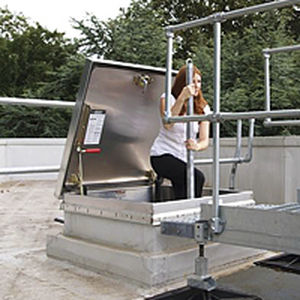 Rooftop Hatch / Square / With Ladder / Aluminum