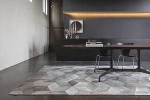 rug 300 x 200. contemporary rug / geometric pattern cowhide rectangular 300 x 200 o