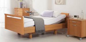 medical bed wooden