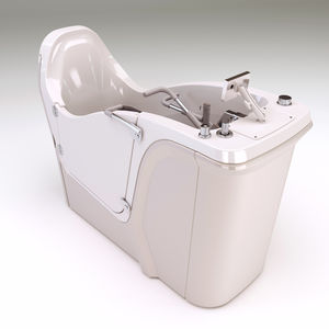Free Standing Bathtub / Resin / Deep / Handicapped