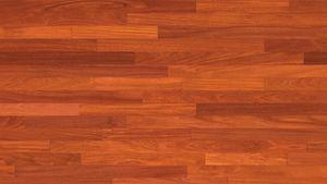 Engineered Parquet Flooring / Glued / Mahogany / Semi Gloss