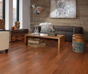 Engineered Parquet Flooring / Glued / Jatoba / Semi Gloss