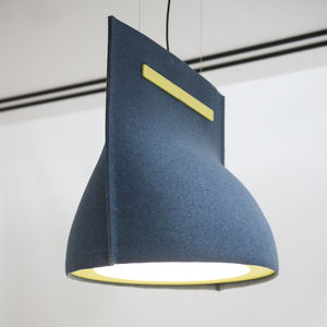 Pendant Lamp / Contemporary / Metal / Felt