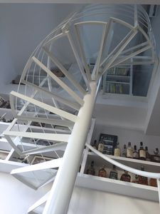 Spiral Staircase / Helical / Circular / Steel Frame