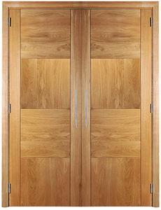 Closet Door / Swing / Oak / Double Leaf