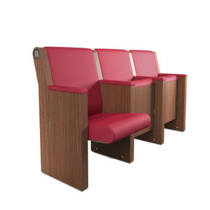 Wooden auditorium seat - All architecture and design manufacturers ...