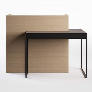 Wooden Reception Desk / Laminate / For Hairdressers