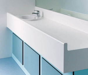 HPL changing table / free-standing / commercial