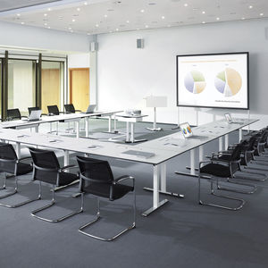 office conference table design.  Office Contemporary Conference Table  Chromed Metal Throughout Office Conference Table Design