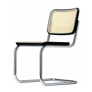chair with armrests upholstered cantilever