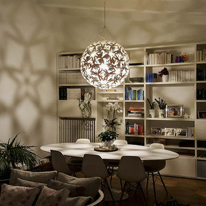 Pendant lamp contemporary bamboo plywood snowflake david pendant lamp contemporary bamboo plywood aloadofball Images