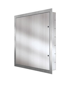 Floor Access Hatch / Square / Stainless Steel