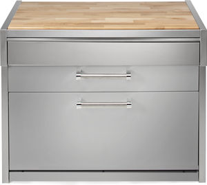 Prep Table With Storage Compartment All Architecture And Design - Stainless steel table with storage