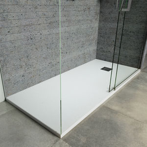 rectangular shower base resin solid surface fiberglass