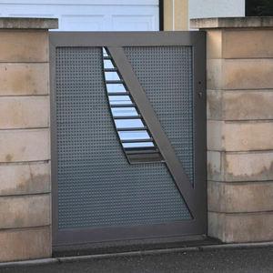 Swing Gates Sliding Metal Panel
