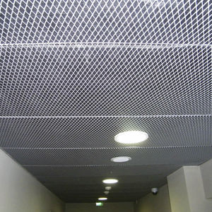 wire mesh suspended ceiling tile decorative