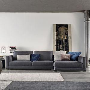 Modular Sofa / Contemporary / Fabric / Ergonomic