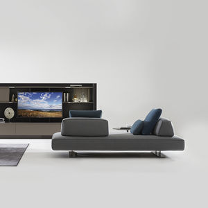 Modular Sofa / Contemporary / Fabric / Double