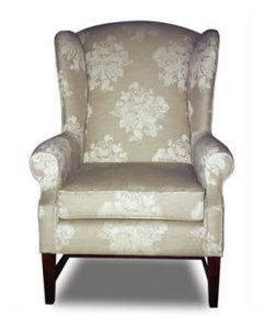 Classic Armchair / Textile / Wing / Bergere