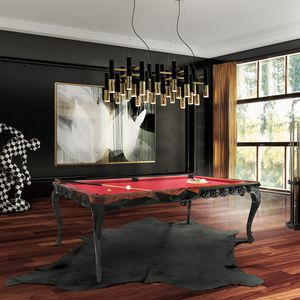 New Baroque Design Pool Table / Commercial