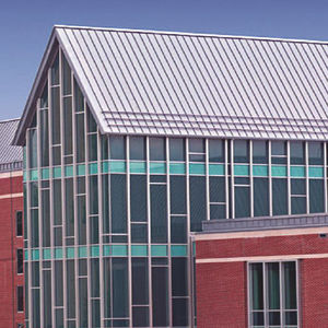 Stainless Steel Roofing / Ribbed / Standing Seam