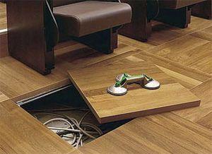 Wooden Raised Access Floor / Indoor / Perforated
