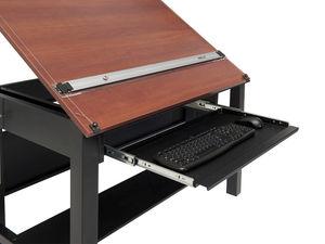 Contemporary Drafting Table / Wooden / Laminate / Rectangular