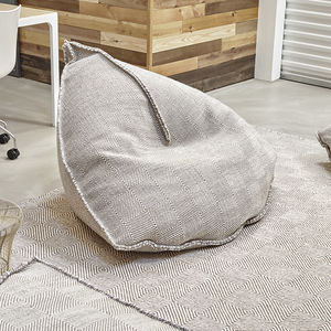 Contemporary Bean Bag / Wool / Commercial