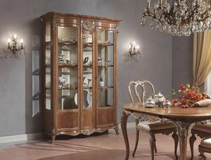 Classic China Cabinet Wooden