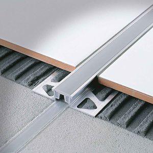 Aluminum expansion strips