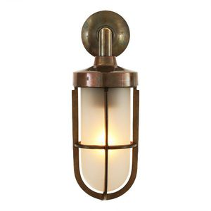 Industrial style wall light outdoor brass glass clayton industrial style wall light outdoor brass glass workwithnaturefo