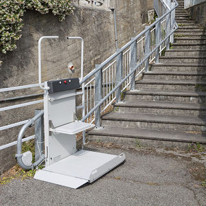Amazing Handicapped Platform Stair Lift / Inclined / Outdoor