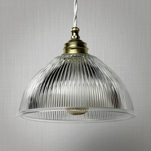 Pendant Lamp / Industrial Style / Glass / Transparent