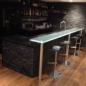Bar Counter / Glass / Upright