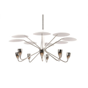 Metal chandelier - All architecture and design manufacturers - Videos