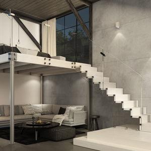 Glass mezzanine - All architecture and design manufacturers