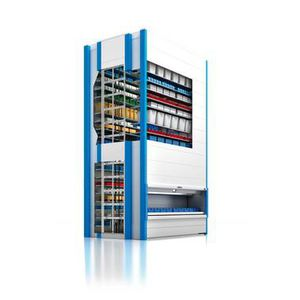 automatic rotating shelves / vertical / commercial