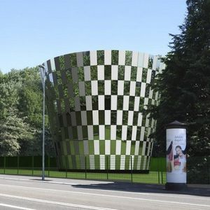 Glass cladding all architecture and design manufacturers metal cladding glass reflective panel malvernweather Gallery