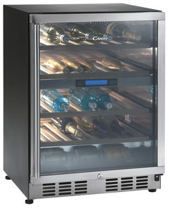 residential wine cabinet builtin metal - Built In Wine Fridge