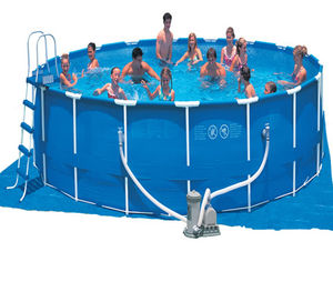 above ground metal frame swimming pools 11028 2061549 Easy Set Swimming Pools