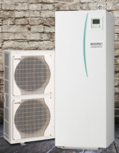 Air/water heat pump / air source