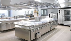Commercial cooking: modular kitchen - All architecture and design ...
