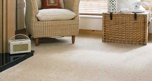 Woven carpet / wool