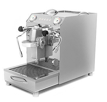1 group commercial coffee machine DOMOBAR SUPER VIBIEMME S.P.A.